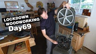 Changing the blade and setting up my bandsaw | LOCKDOWN Day 69 (hehe)