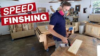 The secret to getting an awesome finish with spray lacquer in under 30 minutes | Finishing basics