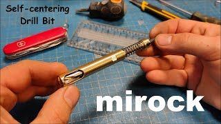 Homemade Self-centering Drill Bit