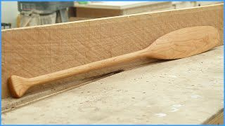 How to Make a Paddle (FRENCH VERSION)
