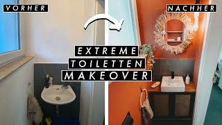 Extreme Toiletten Room Makeover - komplette Raum Transformation mit Linda DIY | EASY ALEX