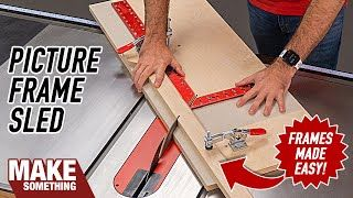 Easy-to-make Jig Will Simplify Your Picture Frames. Perfect Miters Every Time!